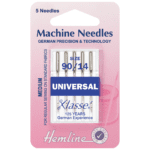 Sewing Machine Needles Everyday/Universal 90/14: 5 Pieces