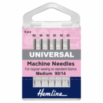 Sewing Machine Needles Everyday/Universal 90/14: 6 Pieces