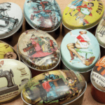 Sewing themed collectable tins