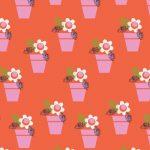 Dashwood - Amelie- Red flower