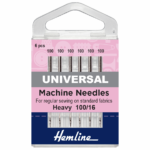Sewing Machine Needles: Heavy ( 6 pieces)