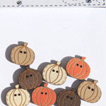 The Bee Company Buttons- Pumpkins