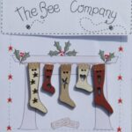 The Bee Company Buttons- Stockings