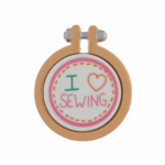 Needle Minder: I Love Sewing