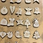 The Bee Company Buttons- Advent Calendar Buttons