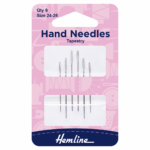 Hand Sewing Needles: Tapestry: Size 24-26