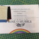 1 Shade Chart- Rose and Hubble Craft Cotton