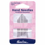 Hand Sewing Needles: Household Assorted: 12 Pieces