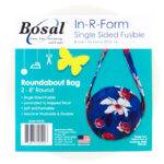"Bosal 8"" Round Fusible Foam"
