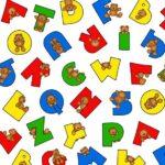 Henry Glass Alphabet Bears