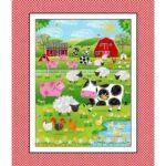 Henry Glass Best Friends Farm- Panel