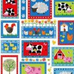 Henry Glass Best Friends Farm- Patchwork