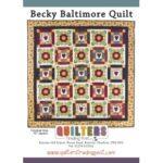Becky Baltimore Quilt Pattern
