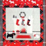 Scottie Dog Cushion Panel